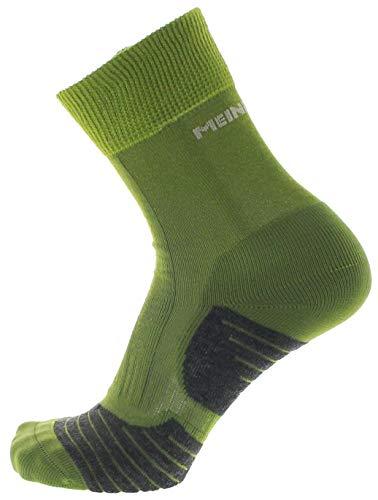 Meindl Damen Socken MT2 Lady Trekking Basic Trekkingsocken Grün 42/44