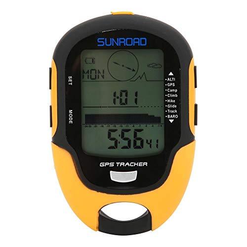 Keenso Multifunktionales GPS-Höhenmessgerät FR510 GPS-Navigation im Freien Höhenmesserkompass Temperatur Luftfeuchtigkeitsmessgerät