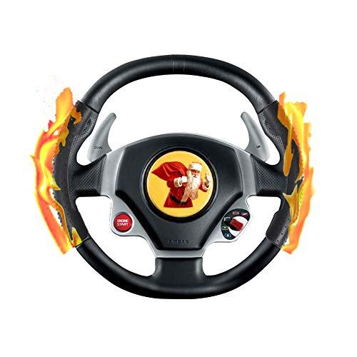 Lenkradheizung für Auto, 5V USB Akku Auto Lenkradheizung Nachrüsten Kabellos Ohne Kabel mit Lenkradständer, Lenkrad Warm Wärmer Lenkradhülle Lenkradwärmer Lenkradheizung