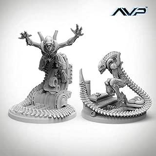 AvP - The Hunt Begins 28mm Alien Evolved Warriors SW