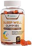 Sleep Support Melatonin Gummies Extra Strength Sleep Gummy with B6 and Passiflora - Natural Adult Sleeping Gummies - Best Vegan Non Habit Forming Sleep & Stress Support Supplement - 120 Gummies
