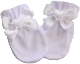 Fäustlinge Kratzfäustlinge Baby Handschuhe NEU Unisex Baumwolle Fäustel 50 56