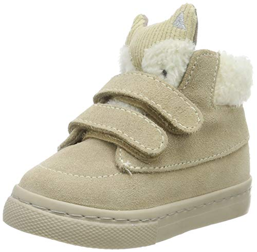 Gioseppo Baby Jungen Kipnuk Sneakers Beige Taupe), 21 EU