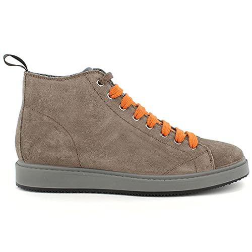 IGI&CO Sneaker Hi-Top da Uomo Marrone in camoscio - Santiago 8124733 - Taglia 42