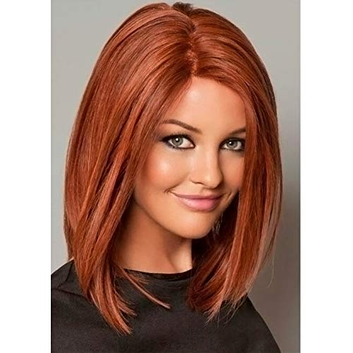 comprar pelucas naranjas cortas on-line