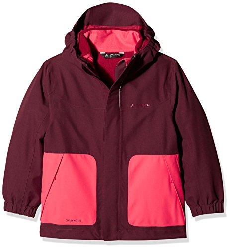 VAUDE Kinder Campfire 3in1 Jacket IV, rot(Raisin), 146/152