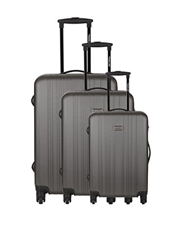 Travelone Set de 3 trolleys rígidos Gris