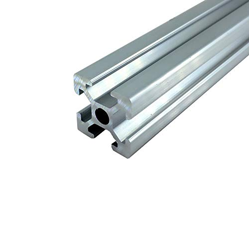 Nologo WJW-DAOGUI, 1pc Linear Guide 3d Printer 350mm To 800mm Rail Anodized Aluminum Profile Extrusion 3D Printer Parts 2020 For DIY Workbench (Size : 2020 800)