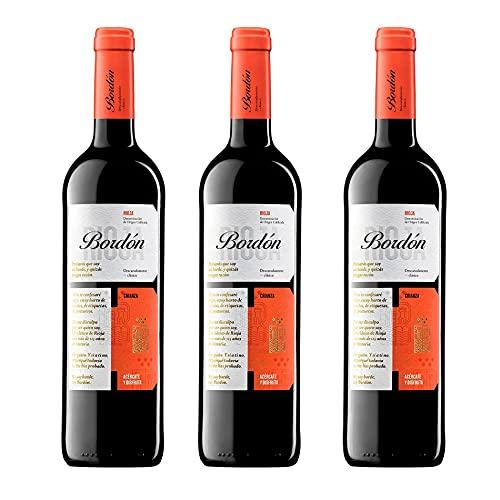 Bordón Crianza Vino Tinto D.O.C Rioja - Pack 3 Botellas