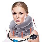 trazione cervicale collo, collare per cervicale, cuscino gonfiabile cervicale, cuscino cervicale gonfiabile, trazione gonfiabile regolabile per aria per alleviare il dolore al collo e alle spalle