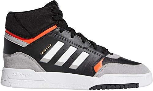 adidas Herren Drop Step Sneaker, Noir Gris Clair Rouge Solaire, 45 1/3 EU