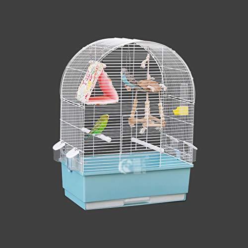 Z-W-Dong Placcato Pet Living, Gabbie, Pet Shop Scuola Metallo Parrot corrosione Resistenza alla ruggine Voliere Superficie Liscia Uccelli/Gabbie (Color : B, Size : 68 * 30 * 49.5CM)