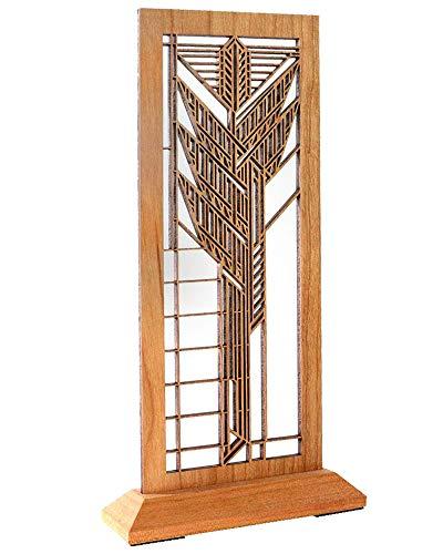 Frank Lloyd Wright Dana Sumac Hardwood Mini Screen