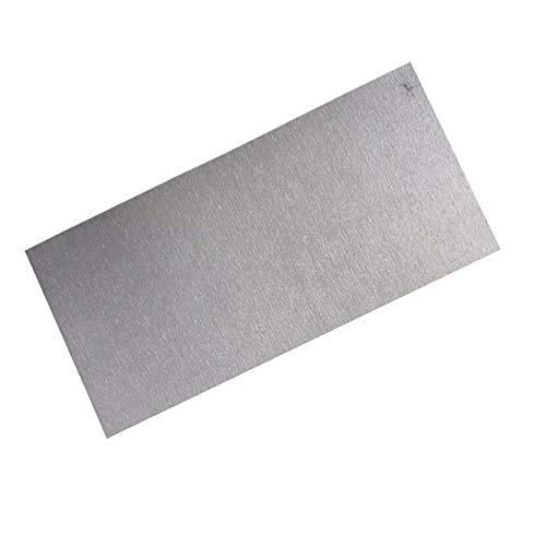 LEISHENT Reines Nickel-Blech NI Metall Dünne Nickelplatte Länge 100 Mm, Breite 200 Mm, Dicke 1 Mm Bis 3 Mm,100x200x3mm