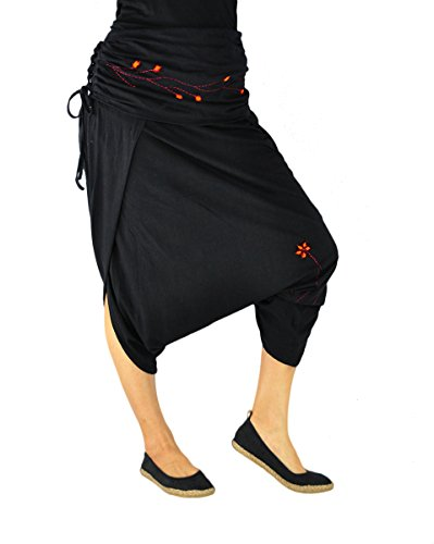 virblatt – Pantalones Baggy Mujer y Pantalones Anchos de Yoga - Geschickt Nepal