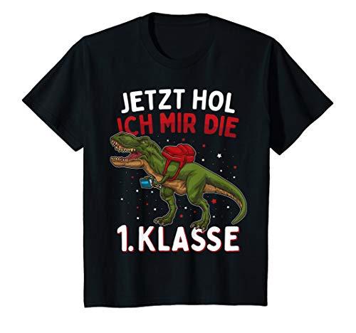 Kinder Einschulung 2020 Dinosaurier Jetzt Hol Ich Mir Die 1. Klasse T-Shirt