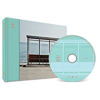 BTS [LEFT Version] YOU NEVER WALK ALONE WINGS Album CD + Photobook + Photocard