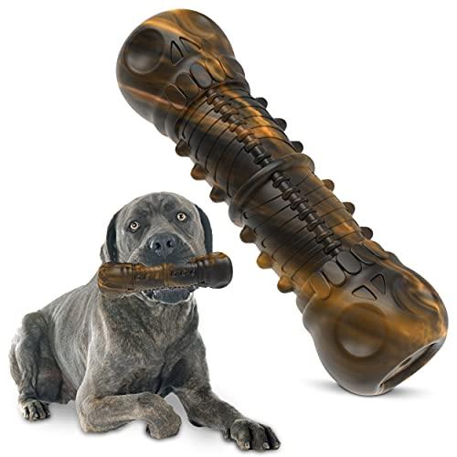 Royal Pets House Almo Kauspielzeug für Hunde aus robustem und langlebigem Gummi | Zahnbürstenspielzeug für aggressive Kauer | Zahnpflege für Hunde
