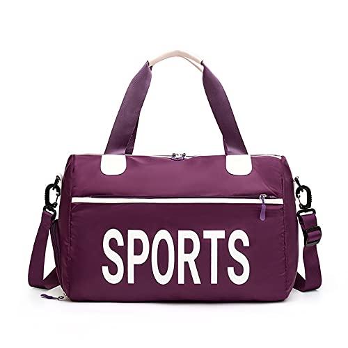 AIWKR Bolsa deportiva para gimnasio, viajes, bolsa de yoga, para gimnasio, yoga, natación, fin de semana