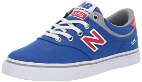 New Balance Boys' 255 (Little Big Kid), Royal/Red, 10.5 Medium US Toddler