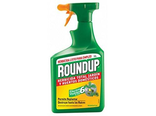 Herbicida Roundup listo para empleo 1 Litro. Efectos a las 6 horas