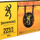Browning 223 55GR FMJ 1000 ROUND CASE