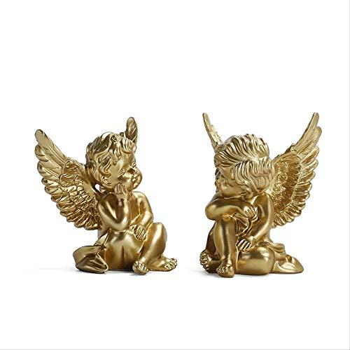 ahjs457 Escultura Escultura decoración artesanías para el hogar Arte Sala de Estar Escultura Resina artesanías decoración de la Sala 8 * 6 * 10.5 cm