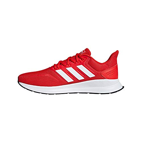 adidas Runfalcon, Zapatillas de Running para Hombre, Rojo (Active Red/ Ftwr White/ Core Black), 42 EU