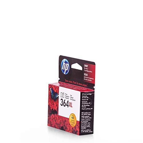 HP - Cartucho de Tinta Original Compatible con HP DeskJet D 5460, 364XL, NO364XL, Nr 364 CB322EE CB322EEABB CB322EEABE CR277E, 7 ML, Color Negro