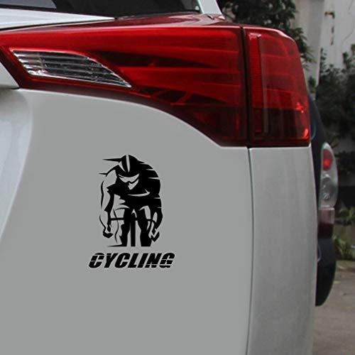 Auto Aufkleber Der 12,7 Mt x 16,7 Cm Radfahren Worte Radfahrer Rennrad Sport Auto Aufkleber Mode Aufkleber für auto laptop fenster aufkleber