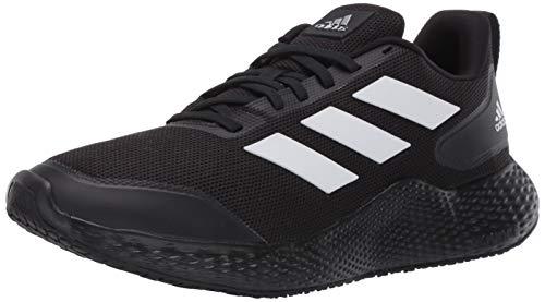 adidas mens Edge Gameday Running Shoe, Core Black/Ftwr White/Core Black, 9.5 US