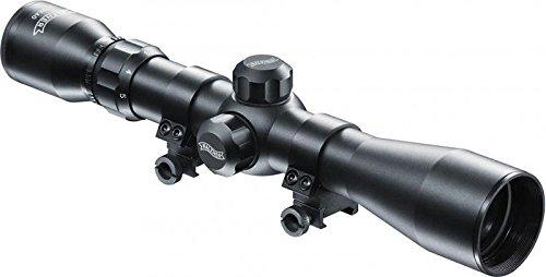 Walther Zielfernrohr 3-9x40 mit Weavermontage, variablem Zoom und großem Sichtfeld