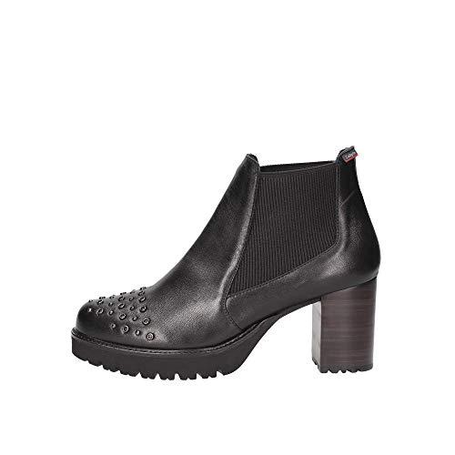 Callaghan Chaussures Femme Bottines à Talon 21925 Noir Taille 39 Black
