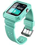SUPCASE [Unicorn Beetle Pro] Designed for Apple Watch Series 6/SE/5/4 [44mm], Rugged Protective Case with Strap Bands (MintGreen)