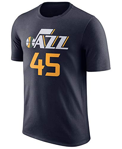 Outerstuff NBA Youth Performance Game Time Team Color Player Name and Number Jersey T-Shirt (Donovan Mitchell, X-Large 18/20)