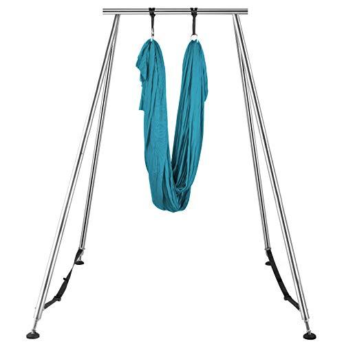 JALAL Yoga Sling Inversion, Inversion Yoga Swing Stand, Marco de Yoga aéreo con 6 / 12m Yoga Swing Inversion Sling Body Yoga Trapeze Yoga Trapeze Bundle Cinturones de Seguridad, Colorido