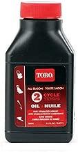 Toro M/R Blwr/Trmmr 38901 Natural Organic 2Cyc All Seas Oil, 2.6 oz