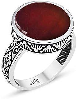 خاتم فضة 925من عتيق للرجال ، atiq18-004-8