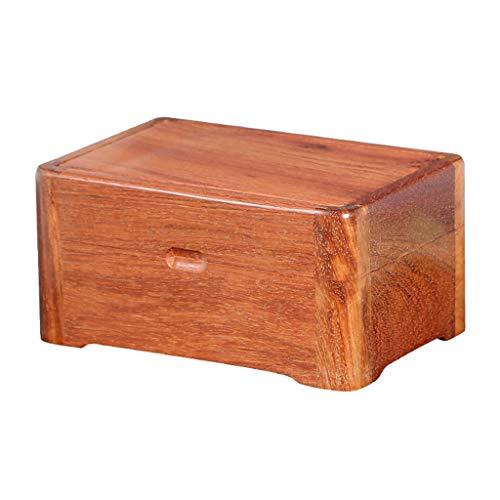 Jewelry Box Joyero De Madera Portátil Estructura De Espiga Y Espiga Completa Estuche De Joyería De Adsorción De Imán Regalo De Cumpleaños De Boda (Color : Brown, Size : 16×11×8cm)