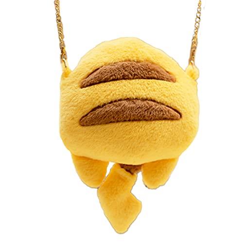 Pikachu - Sac à main original et amusant pour femme - Sac à bandoulière - Super doux en forme de Pikachu - Cadeau Friki Pokémon