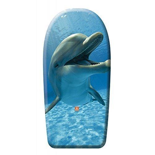Hochwertiges Bodyboard mit real Life Delfin ca. 94 cm