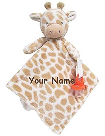 giraffe blanket personalized gift custom blanket personalized angel dear giraffe napping blanket personalized blanket monogrammed animal
