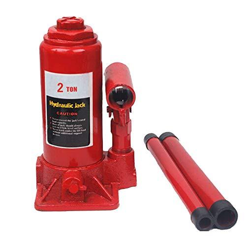 Read About Floor Jacks Hydraulic Bottle Jacks Red 2 Tonne Allows for Easy Maneuverability Car Floor ...