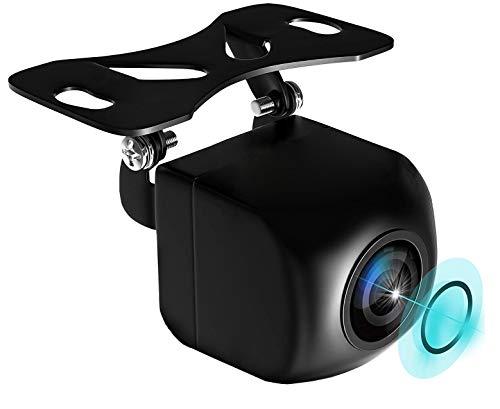 GGTFA Vue latérale arrière de la Voiture caméra de Secours arrière 170 ° DH 1280P Vision Nocturne à Faible luminosité