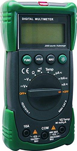 ELRO Multi/Amperemeter mit Automatischem Messbereich, M991