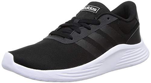 adidas Lite Racer 2.0, Sneaker Mujer, Core Black/Core Black/Footwear White, 42 2/3 EU