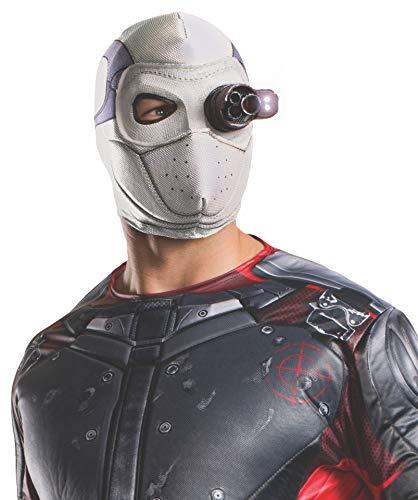 Rubie's Costume Co Men's Suicide Squad Deadshot Mask, Light Up, One Size