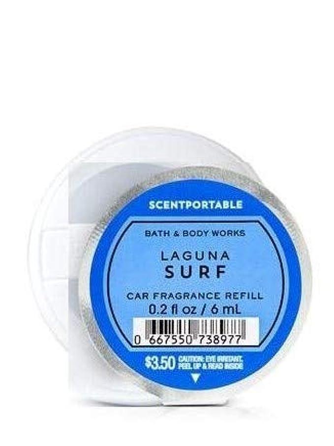 初期一見ストラトフォードオンエイボン【Bath&Body Works/バス&ボディワークス】 クリップ式芳香剤 セントポータブル詰替えリフィル ラグナサーフ Scentportable Fragrance Refill Laguna Surf [並行輸入品]