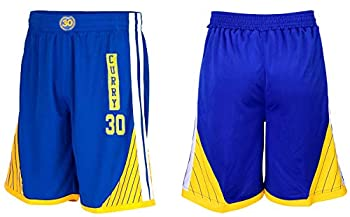 Steph Curry Blue Kids Basketball Jersey Shorts Set Youth Sizes Premium Quality Gift Set  YS 6-8 Years Shorts Only