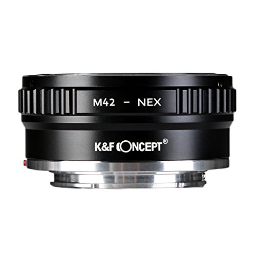 K&F Concept レンズマウントアダプター KF-42E2 (M42マウントレンズ → ソニーEマウント変換)